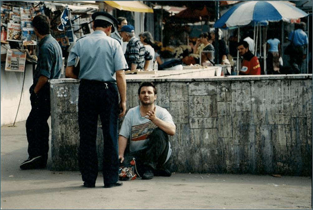 În 1999, în pielea unui cerșetor