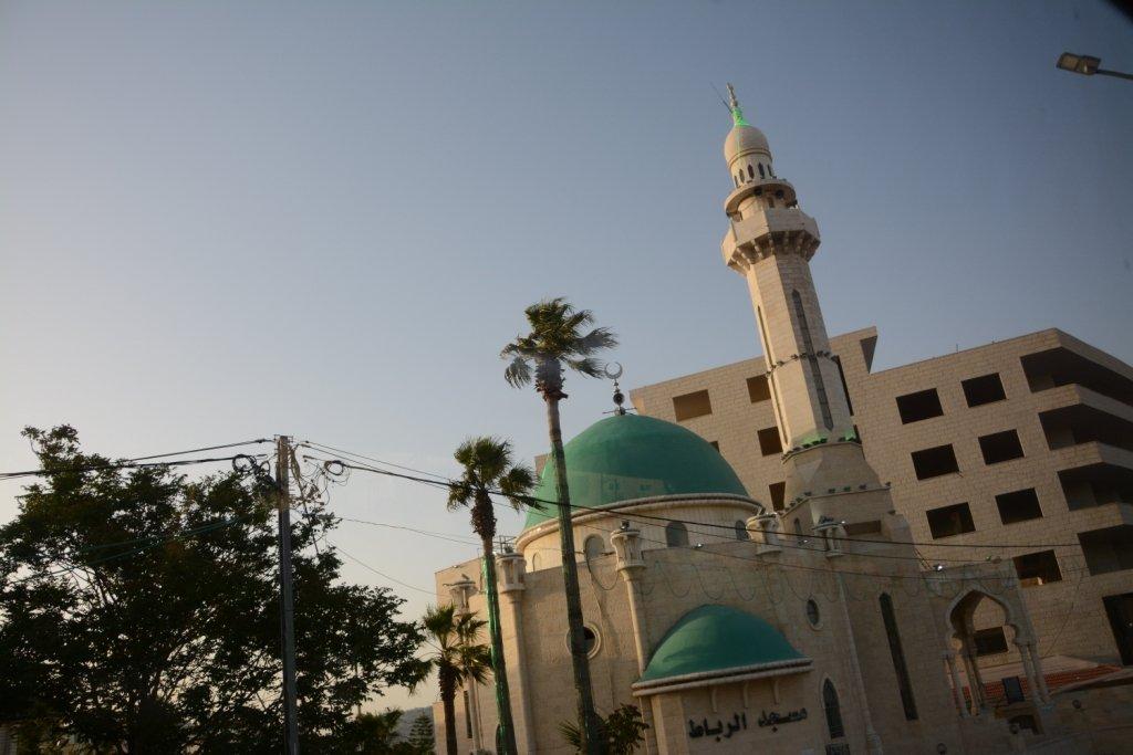 moschee minaert muezin